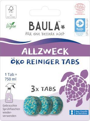 BIOBAULA Allzweck-Reiniger Tabs