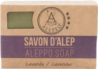ALEPEO Aleppo Olivenölseife mit Lavendelduft 100 g