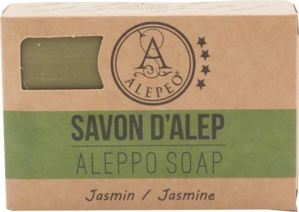 ALEPEO Aleppo Olivenölseife mit Jasminduft 100 g
