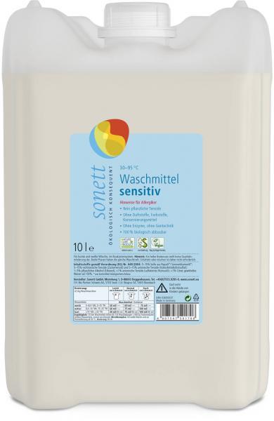 Sonett Waschmittel sensitiv Baustein I 10 Liter