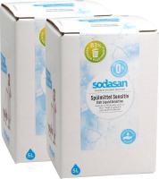 SODASAN Spülmittel Sensitiv 2x5 Liter