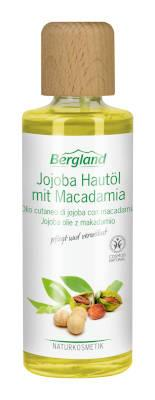 Bergland Jojoba Hautöl mit Macadamia 125 ml