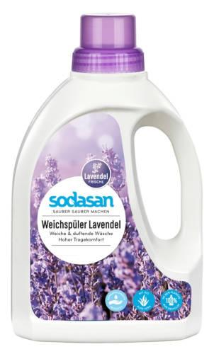 SODASAN Weichspüler Lavendel 0.75 Liter
