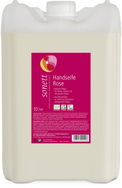 Sonett Handseife Rose 10 Liter