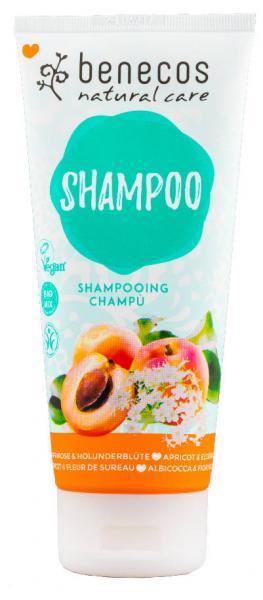 benecos Natural Shampoo Aprikose und Holunderblüte 200 ml