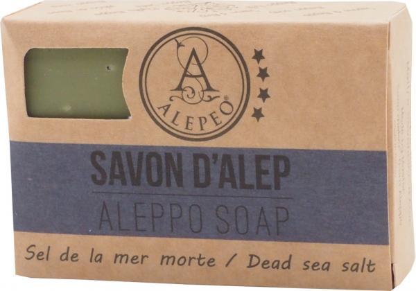ALEPEO Aleppo Ölivenölseife mit Totem Meersalz 100 g