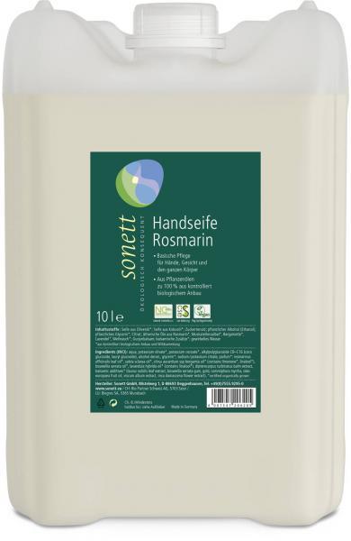 Sonett Handseife Rosmarin 10 Liter