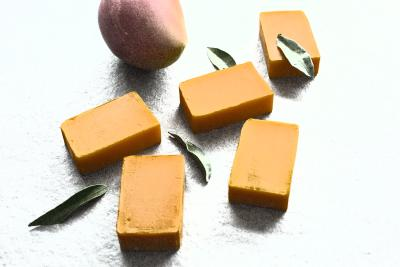 valloloko Mango Mandarine Seife - Mango Tease, 100 g