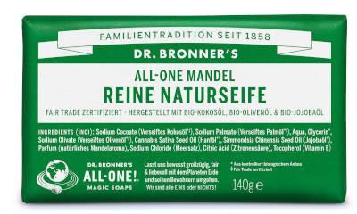 Dr Bronners Mandel Reine Naturseife 140 g