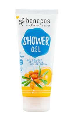 benecos Natural Shower Gel Sanddorn u. Orange 200 ml