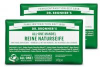 Dr Bronners Mandel Reine Naturseife 140 g 2er Pack