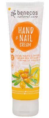 benecos Natural Hand- u. Nail Cream Sanddorn u. Orange 75 ml