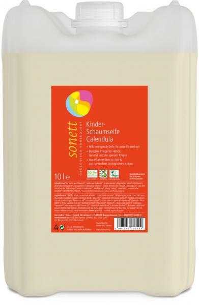 Sonett Kinder-Schaumseife Calendula 10 Liter
