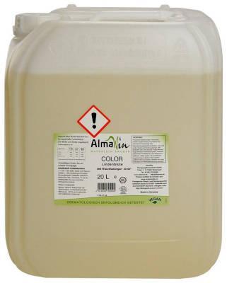 AlmaWin Color Flüssigwaschmittel Lindenblüte 20 Liter