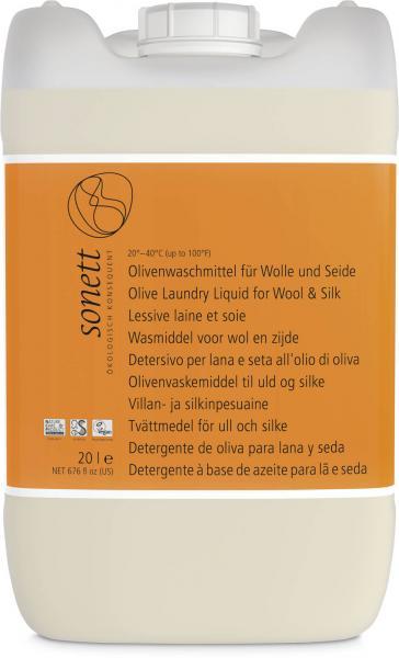 Sonett Olivenwaschmittel f. Wolle u. Seide 20 Liter
