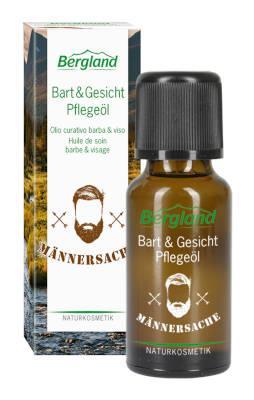 Bergland Bart und Gesichtpflegeöl 20 ml