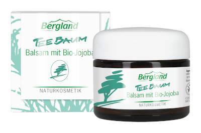 Bergland Teebaum Balsam mit Bio-Jojoba 50 ml