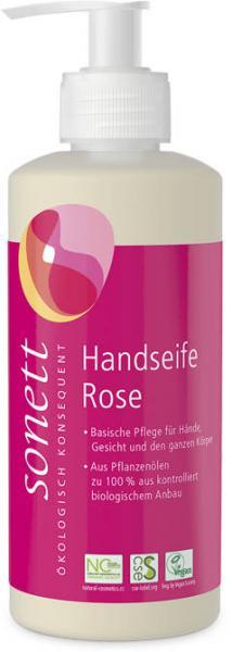 Sonett Handseife Rose 300 ml