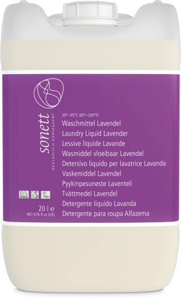 Sonett Waschmittel Lavendel Baustein I 20 Liter