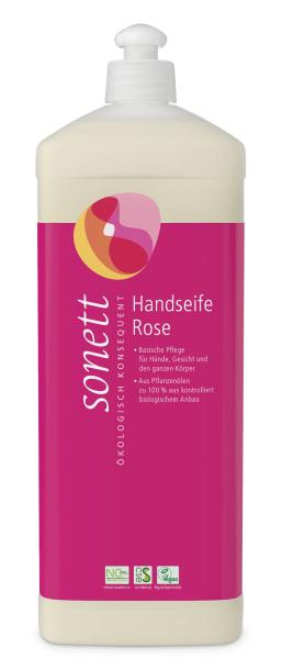 Sonett Handseife Rose 1 Liter