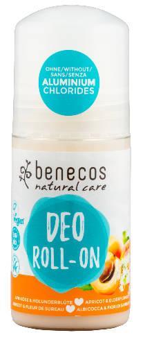 benecos Deo Roll on Aprikose und Holunderblüte 50 ml