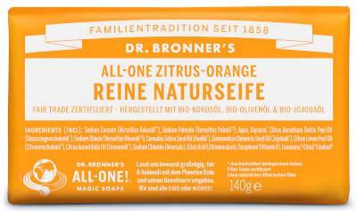 Dr Bronners Ffefferminze Reine Naturseife140 g
