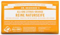 Dr Bronners Zitrus-Orange Reine Naturseife 140 g