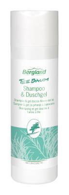 Bergland Teebaum Shampoo und Duschgel 200 ml