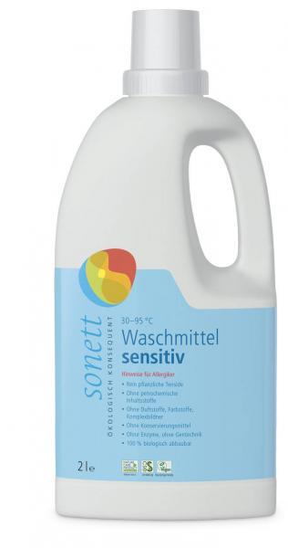 Sonett Waschmittel Sensitiv Baustein I 2 Liter