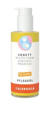 Sonett Mistelform Kinder Pflegeöl Calendula 145 ml