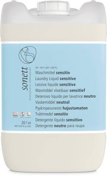 Sonett Waschmittel sensitiv Baustein I 20 Liter
