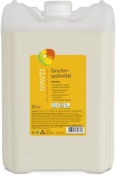 Sonett Geschirrspülmittel Calendula 10 Liter