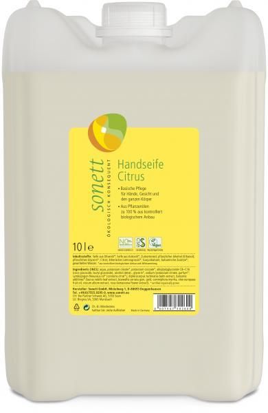 Sonett Handseife Citrus 10 Liter