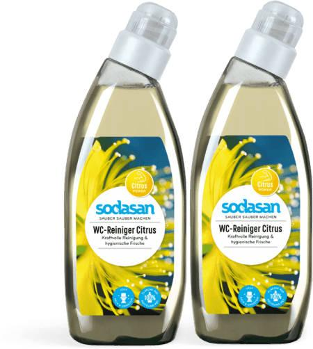 2 x SODASAN WC-Reiniger Citrus 0.75 Liter